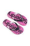 Superdry Womens Pink Scuba Flip Flop