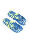 Superdry Mens Blue Scuba Faded Flip Flop