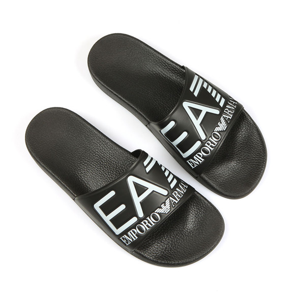 EA7 Emporio Armani Mens Black Sea World Slides main image