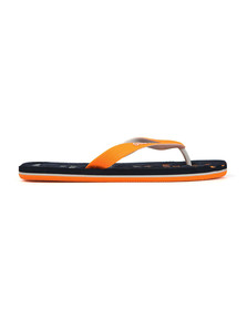 Superdry Mens Blue Scuba Faded Flip Flop