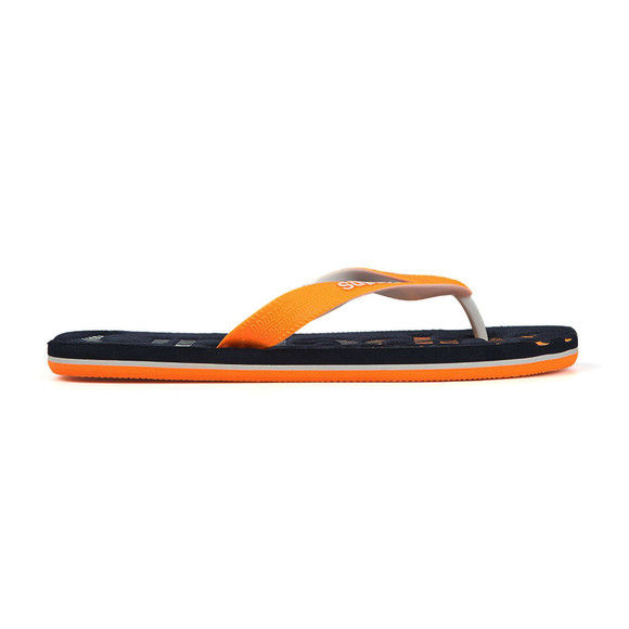 Superdry Mens Blue Scuba Faded Flip Flop main image