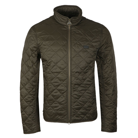 Barbour International Mens Green Gear Quilted Jacket main image