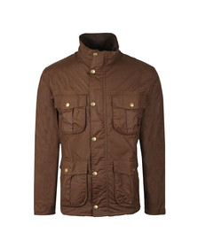 Barbour Lifestyle Mens Brown New Utility Wax Jacket