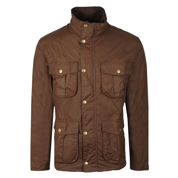 Barbour Lifestyle Mens Brown New Utility Wax Jacket main image