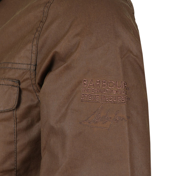 Barbour Int. Steve McQueen Mens Brown Arizona Jacket main image