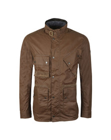 Barbour International Mens Beige Rake Wax Jacket