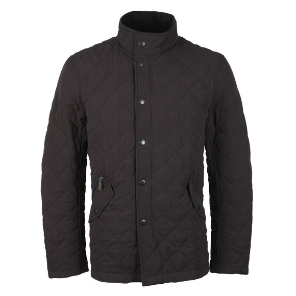 Barbour Countrywear Mens Blue Shoveler  Quilt Jacket