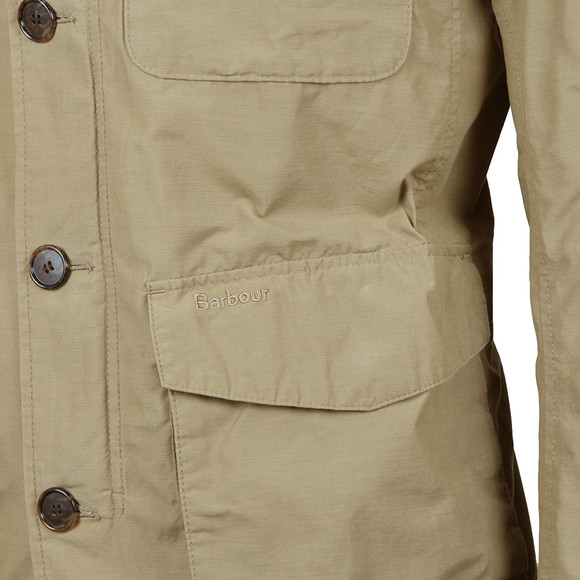 Barbour Lifestyle Mens Beige Stump Jacket main image