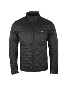 Barbour International Mens Black Gear Quilted Jacket