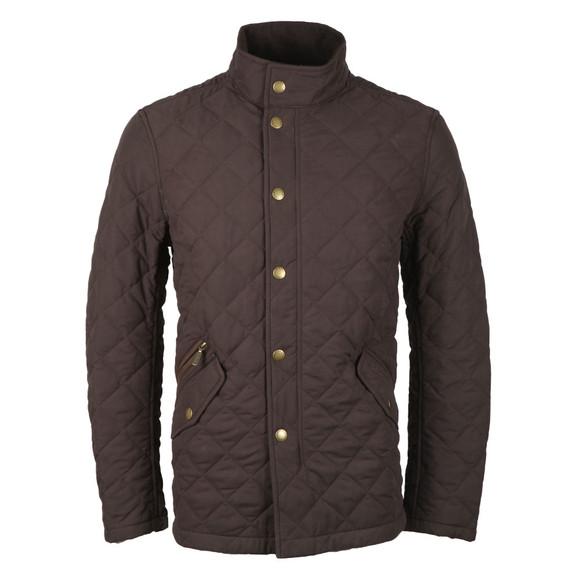 Barbour Lifestyle Mens Brown Shoverler  Quilt Jacket main image