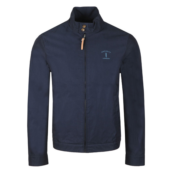 Hackett Mens Blue Classic Harrington main image