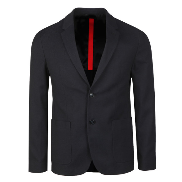 HUGO Mens Blue Areltu Blazer