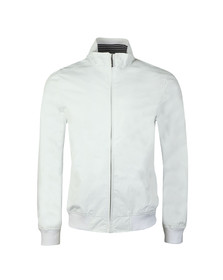 Henri Lloyd Mens White Darton Tech Bomber Jacket