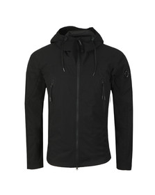 C.P. Company Mens Black Pro Tek Hooded Jacket