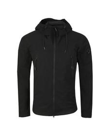 CP Company Mens Black Pro Tek Hooded Jacket