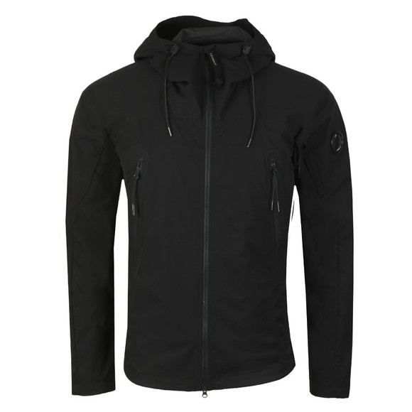C.P. Company Mens Black Pro Tek Hooded Jacket main image