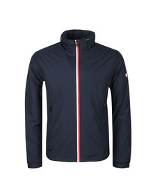 Tommy Hilfiger Mens Blue Red White Zip Jacket