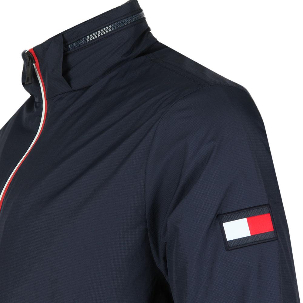 Red White Zip Jacket main image