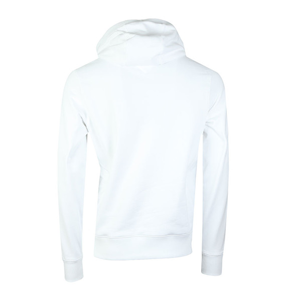 Tommy Hilfiger Mens White Chest Logo Hood main image