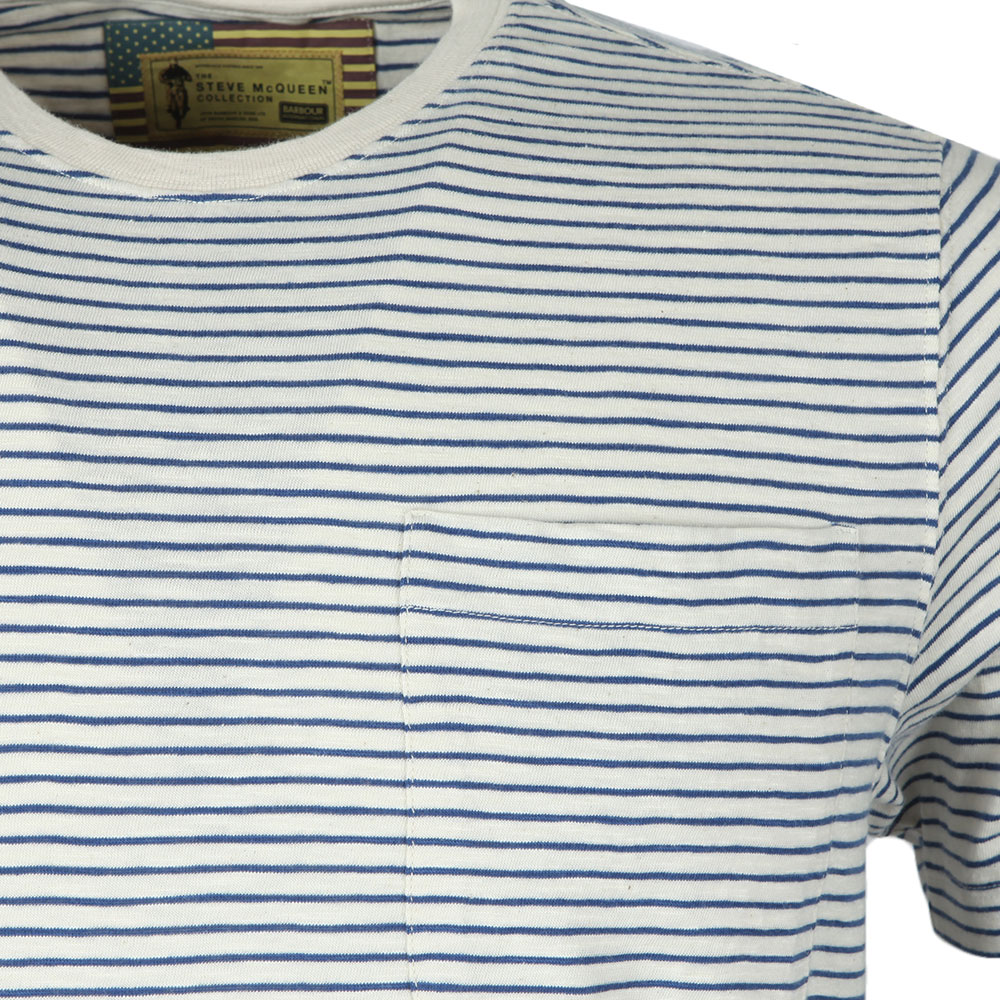 S/S Patrol Pocket Stripe Tee main image