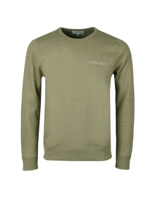 Maison Labiche Mens Green Notorious Sweatshirt