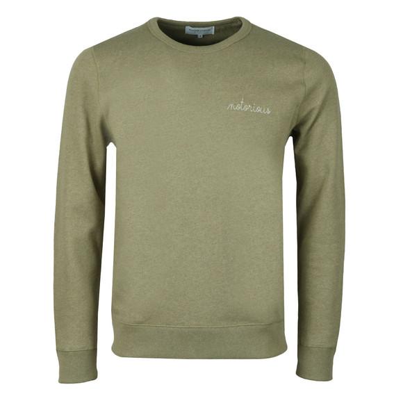 Maison Labiche Mens Green Notorious Sweatshirt main image
