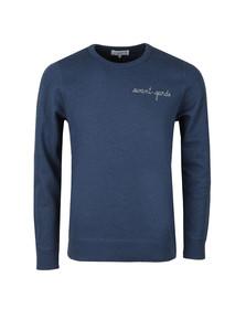 Maison Labiche Mens Blue Avant Garde Sweatshirt