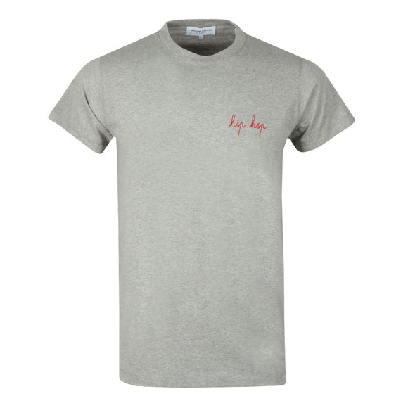 Maison Labiche Mens Grey Hip Hop Heavy Tee main image