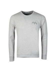 Maison Labiche Mens Grey Playboy Sweatshirts