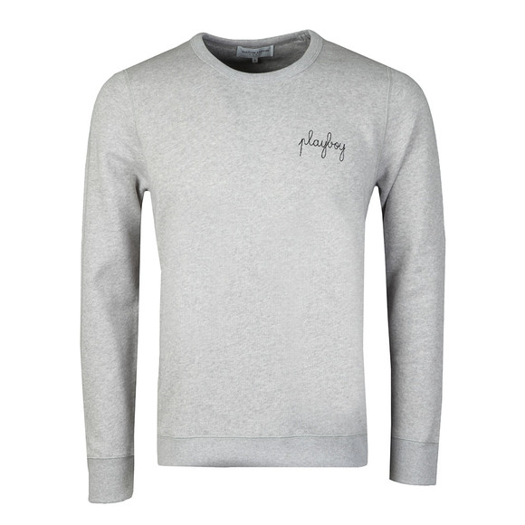Maison Labiche Mens Grey Playboy Sweatshirts