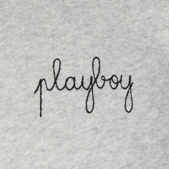 Maison Labiche Mens Grey Playboy Sweatshirts main image