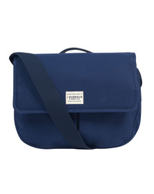 Barbour Lifestyle Unisex Blue Cotton Canvas Tarras Bag