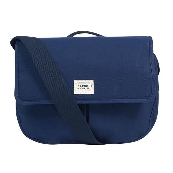 Barbour Lifestyle Unisex Blue Cotton Canvas Tarras Bag main image