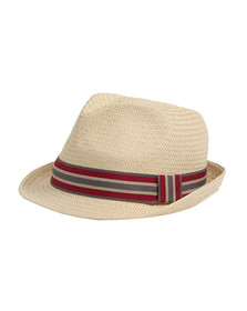 Barbour Lifestyle Mens Beige Whitby Trilby