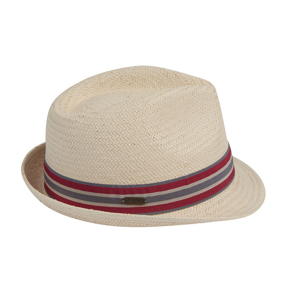Barbour Lifestyle Mens Beige Whitby Trilby main image