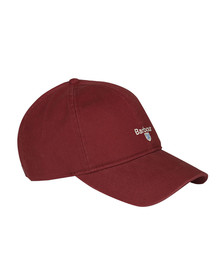 Barbour Lifestyle Mens Red Cascade Sports Cap