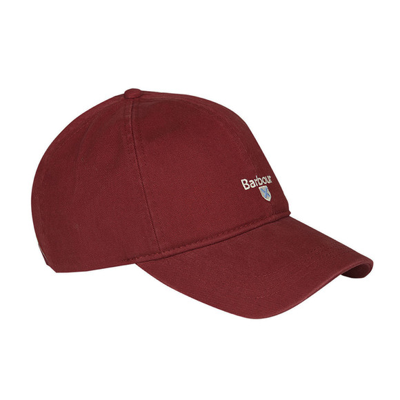 Barbour Lifestyle Mens Red Cascade Sports Cap main image