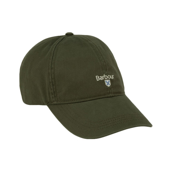 Barbour Lifestyle Mens Green Cascade Sports Cap main image