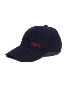 Barbour International Mens Blue Norton Drill Cap
