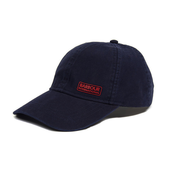 Barbour International Mens Blue Norton Drill Cap main image