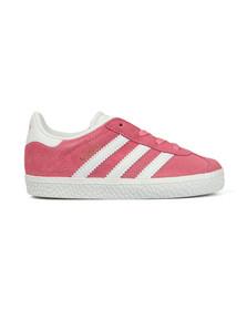 Adidas Originals Girls Pink Gazelle Trainer