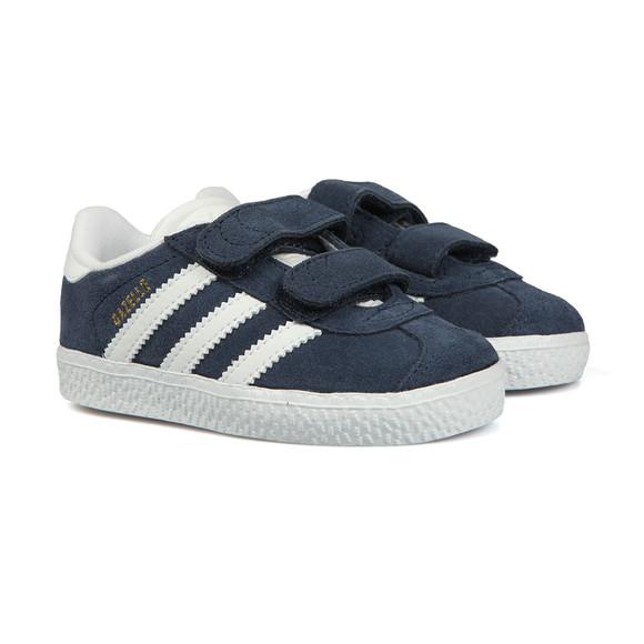 Adidas Originals Boys Blue Gazelle 2 CF Trainer main image