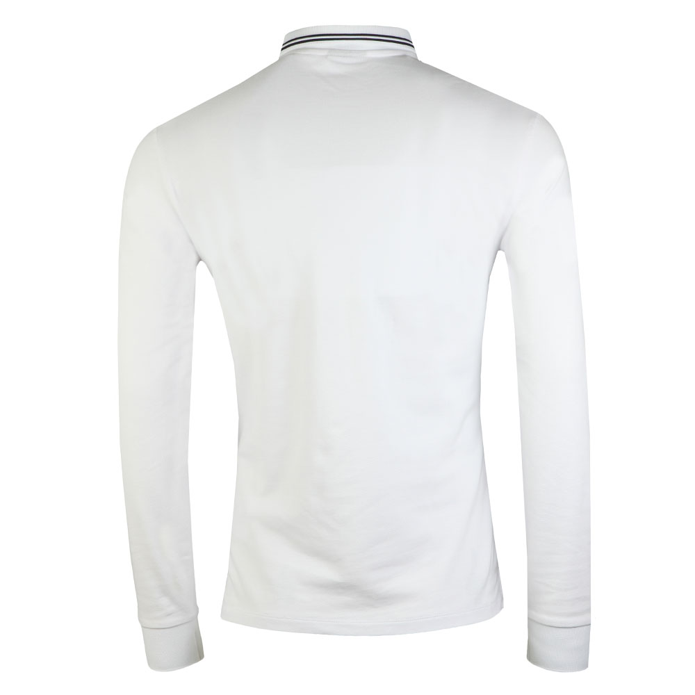 8N1F36 Tipped Long Sleeve Polo main image