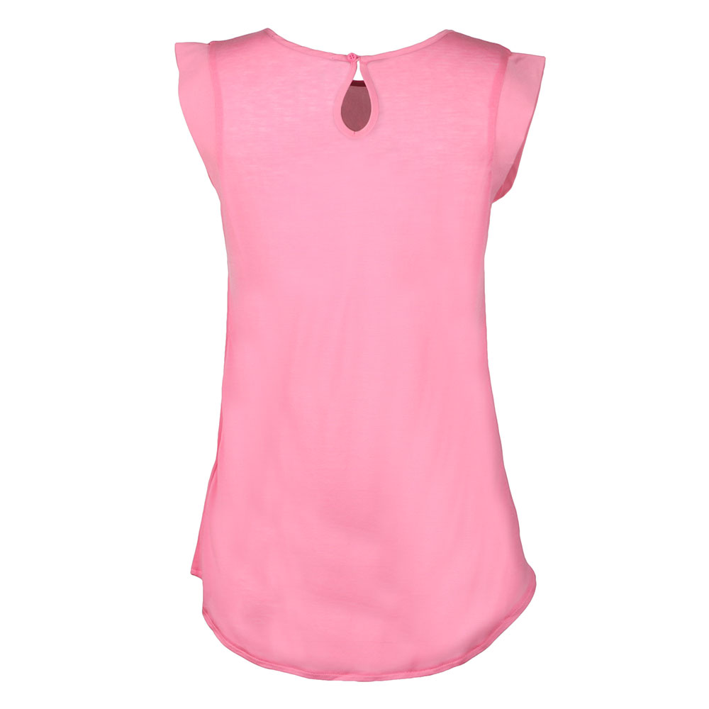 Classic Crepe Capped Sleeve Top main image