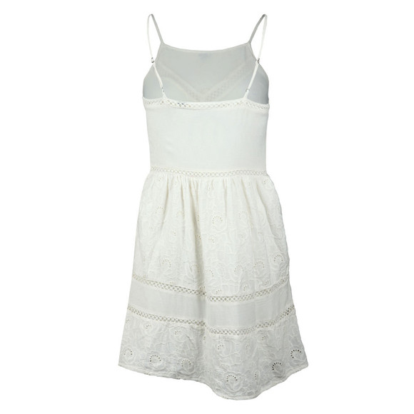 Superdry Womens White Lilah Schiffli Dress main image