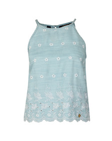 Superdry Womens Blue Lotte Vest Top