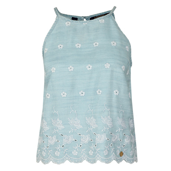 Superdry Womens Blue Lotte Vest Top main image