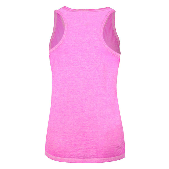 Superdry Womens Pink Burnout Pocket Vest main image