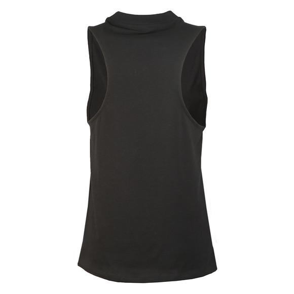 Adidas Originals Womens Black Trefoil Tank main image