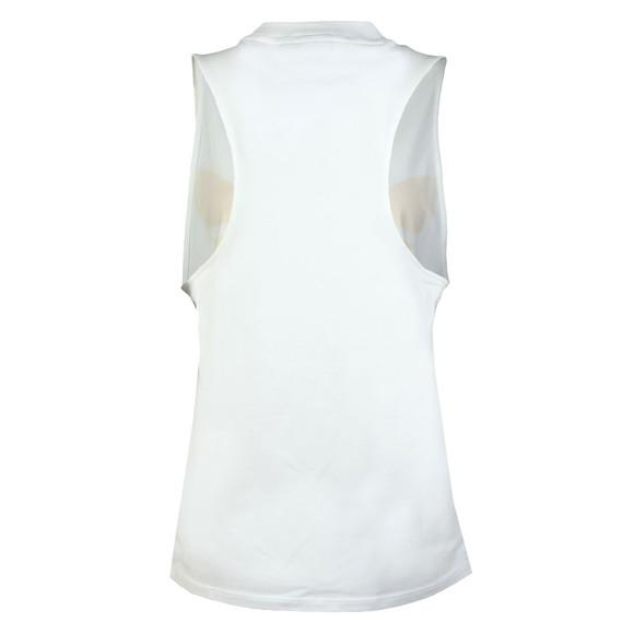 Adidas Originals Womens White Trefoil Tank main image